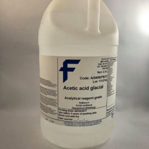 Acetic Acid Glacial ( 99.7%, analysis)