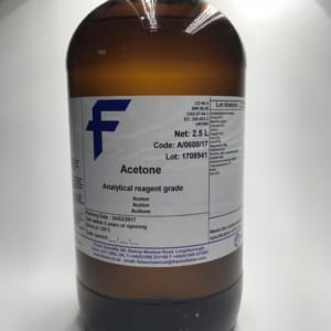 Acetone (analytical reagent, 2,5L)